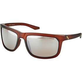100% Hakan Lunettes, soft tact rootbeer/hiper mirror